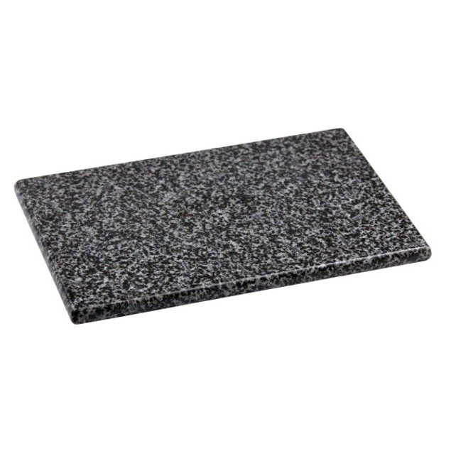 "8"" x 12"" Granite Cutting Board, Black"