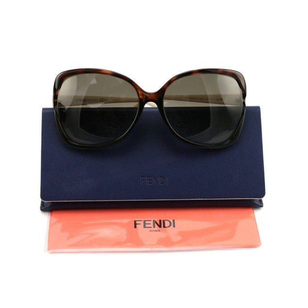 Fendi Women's Sunglasses FF0148/K/S NJ5/HA Havana/Cream 61 17 125 Full Rim