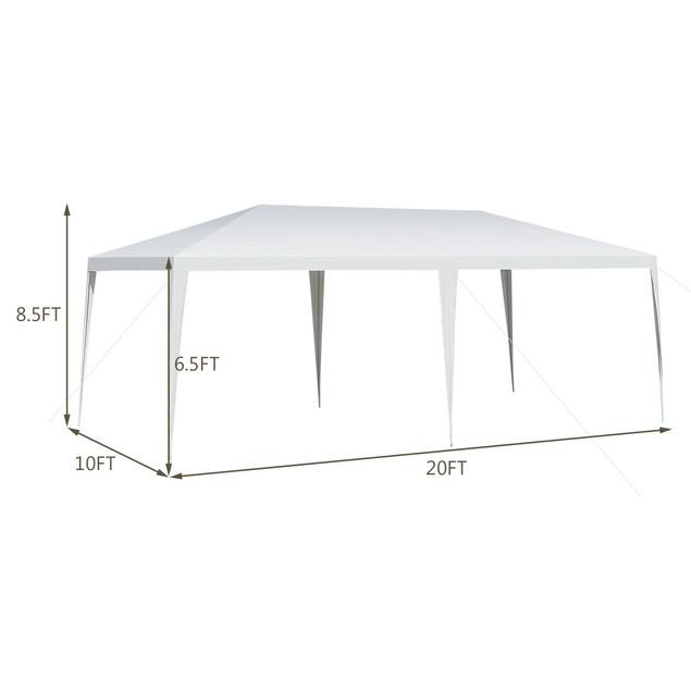 Costway 10'x20' Outdoor Heavy Duty Canopy Pavilion