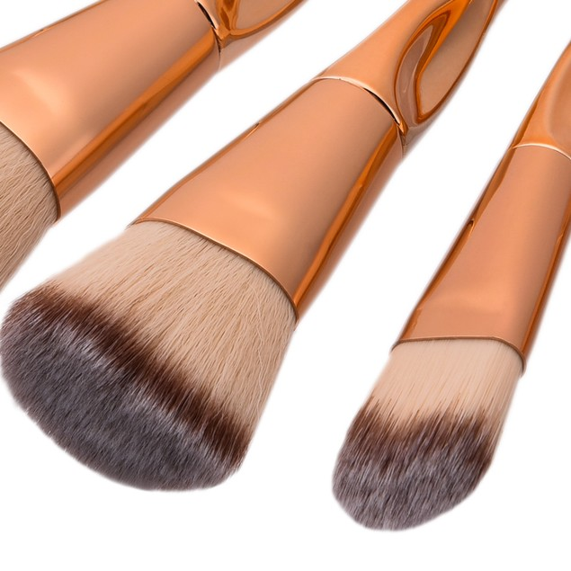 8pcs Makeup Brushes set Fondation Eyeshadow Cosmetic Tool with Leather 96