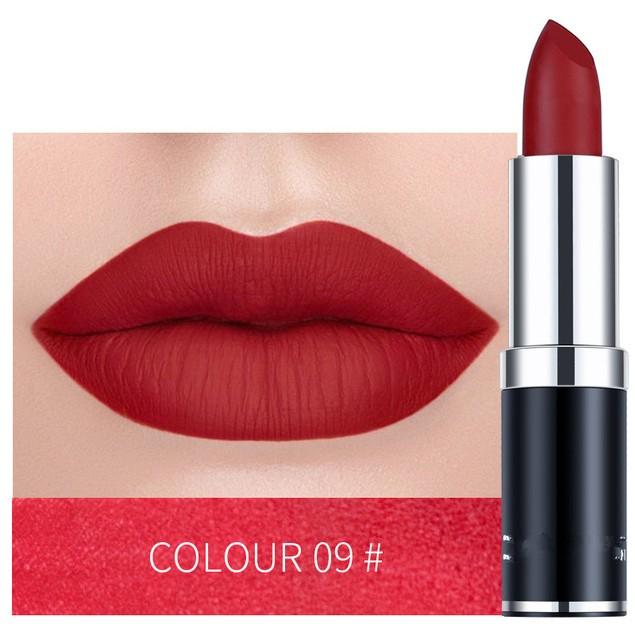12Pcs Matte Matte Lipstick Long Lasting Moisturizing Lipstick