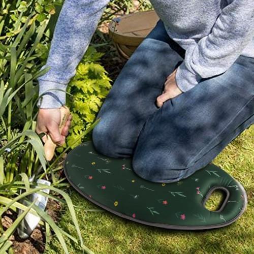 BIGTREE Garden Kneel Pad Thick Memory Foam Kneeling Floral Design