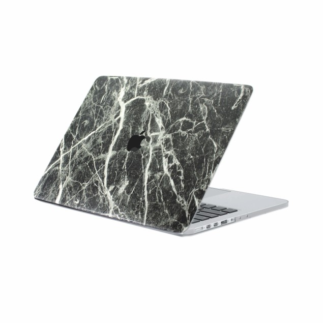 """EmbraceCase 11"""" MacBook Air Hard Shell Cover for A1370/A1465 - Dark Marble"""