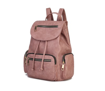 MFK Collection Caroline Backpack by Mia K. Was: $279 Now: $36.99.