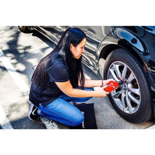Powerbuilt 12V Tire Change Impact Wrench Kit for Lug Nuts