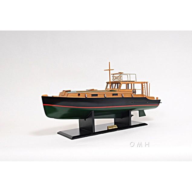 Old Modern Handicrafts Hemingway Pilar Fishing Boat Model