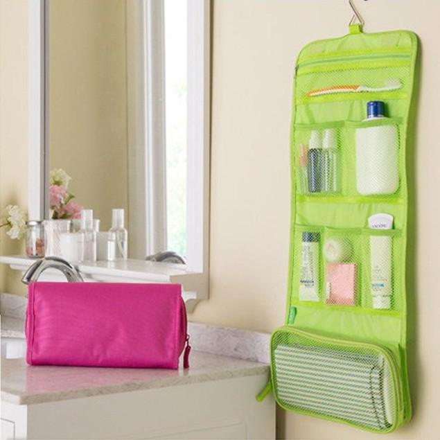 Large-Capacity Three-Fold Hanging Travel Portable Storage Bag