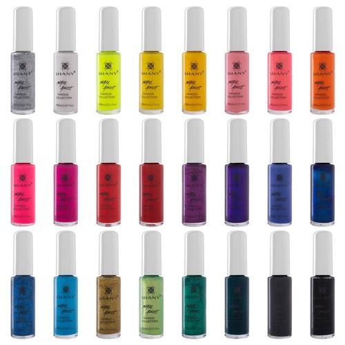 SHANY Nail Art Set-24 Famous Colors Nail Polish