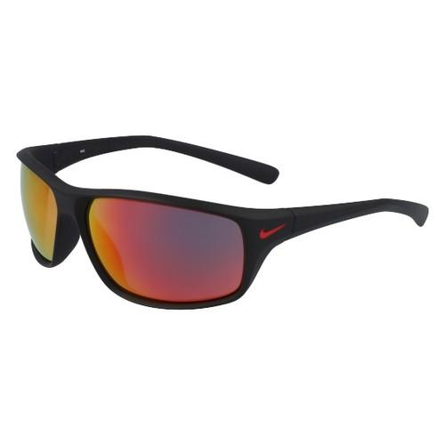 Nike Men Sunglasses NKEV1134 006 Matte Black 65 14 135 Wraparound Mirrored/Infrared