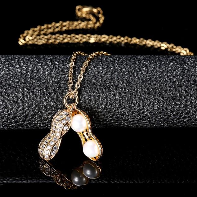New Golden Women Necklace Jewelry #CLA171229W04