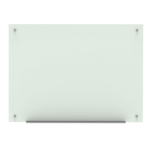 Luxor Home office Durable Wall-Mounted Magnetic Glass Board