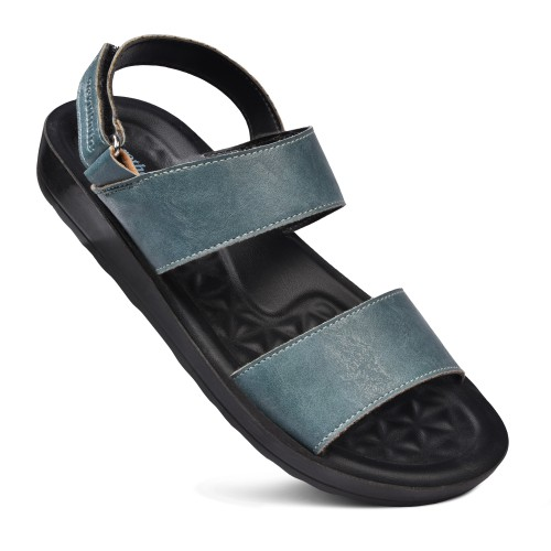 AEROTHOTIC Onyx Comfortable Walking Slingback Strappy Sandals for Women