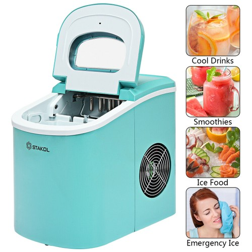 Stakol Portable Compact Electric Ice Maker Machine