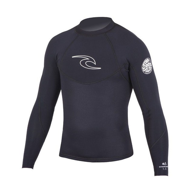 Rip Curl Dawn Patrol 1.5mm Short Sleeve Jacket Surfing Wetsuit SZ XS