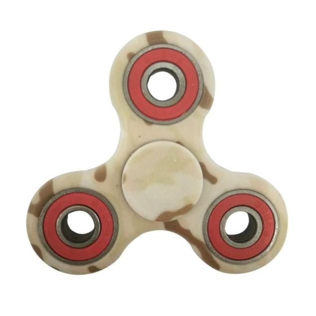 Fidget Spinner Triangle Single Finger Decompression Gyro