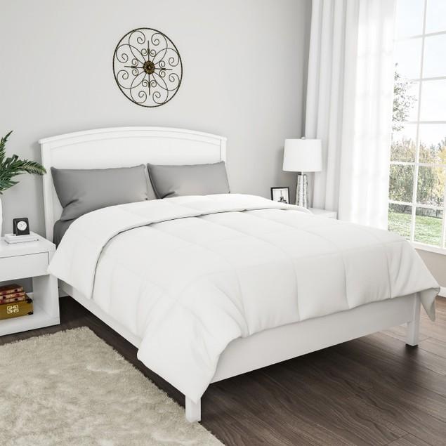 Down Alternative Comforter-Hypoallergenic Microfiber Cover