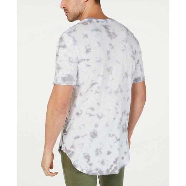 INC International Concepts Tie Dye Plus T-Shirt white Pure 2 Extra Large