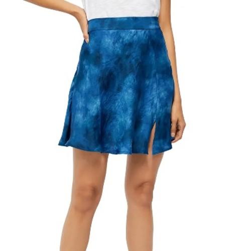 Free People Women's's Martine Flirt Tie Dye Skirt Blue Size 2