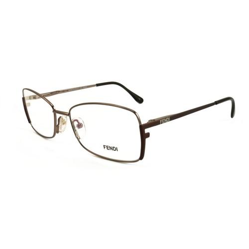Fendi Womens Eyeglasses FF959 770 Light Bronze 24 50 14 Frames Square