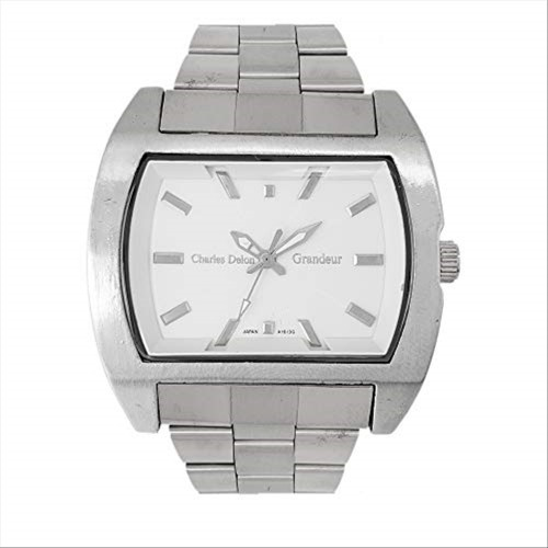 Charles Delon Men's Watches 5152 GPWS Silver/Silver Stainless Steel Quartz