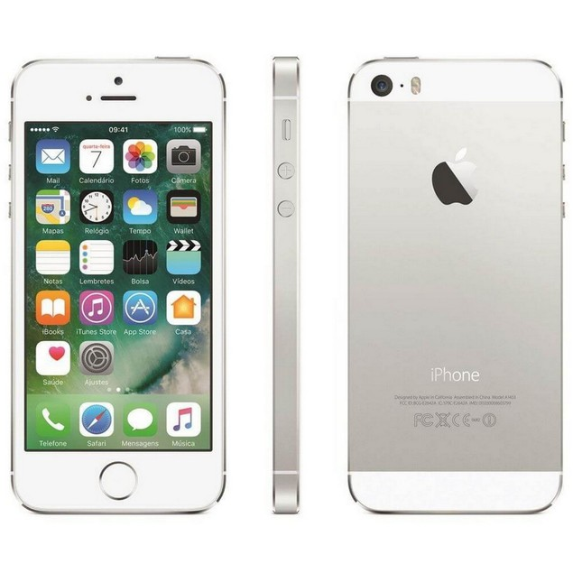 Apple iPhone 5, AT&T, White, 16 GB, 4 in Screen