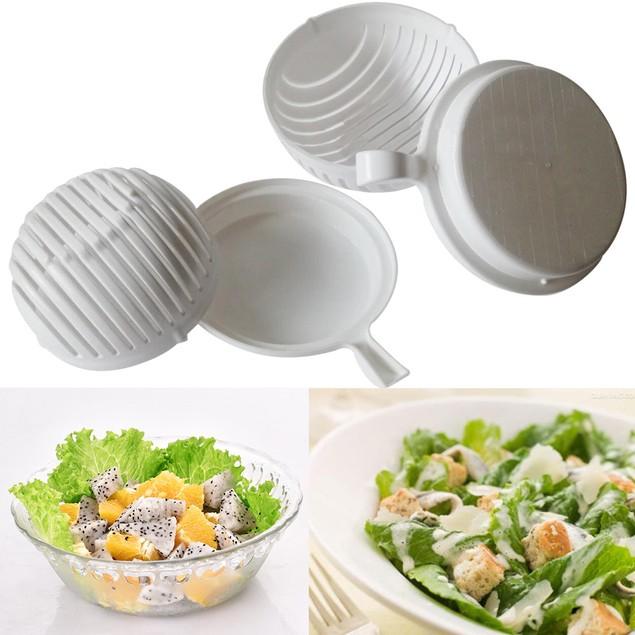60 Seconds Salad Maker Healthy Fresh Salads Made Easy Salad Cutter Bowl