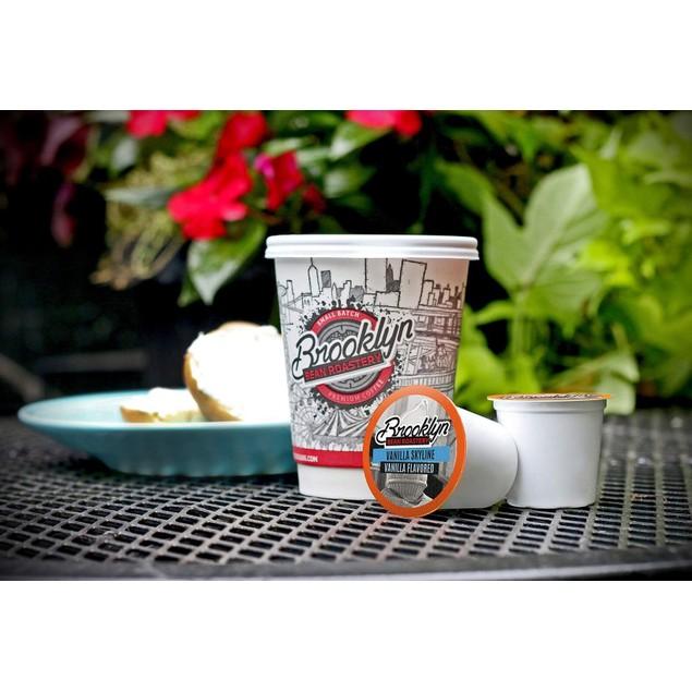 Brooklyn Beans Vanilla Skyline Coffee Pods for Keurig 2.0,40 count