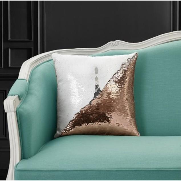 Mainstays Reversible Sequin Decorative Cupcake Pillow