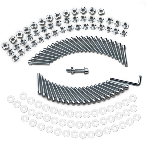 Bolts&T-nuts for Climbing holds 40 sets Climbing hold Installation Hardware
