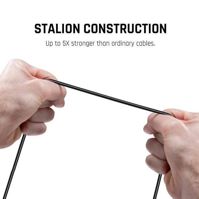 Stalion Stable USB-C to USB-C Sync Data Charger Cord for Type-C Devices