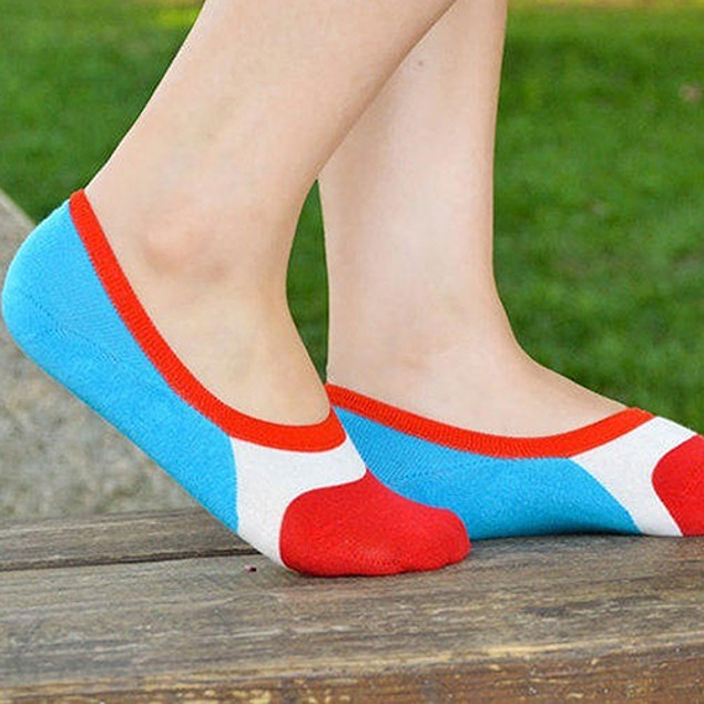 Women Invisible Ankle Low Cut Socks