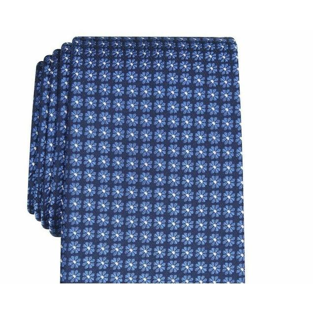 Club Room Men's Tulip Neat Tie Navy Size Regular