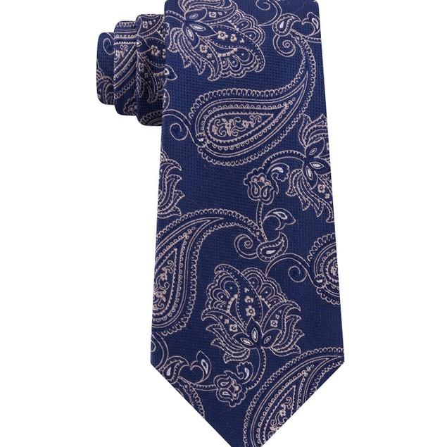 Michael Men's Kors Paisley Neck Tie Med Beige Size Regular