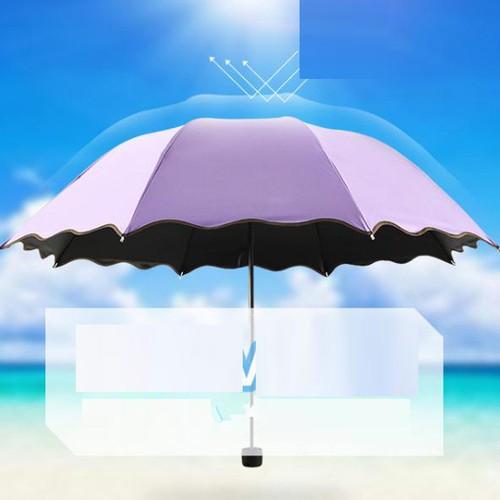 Flowering Vinyl Umbrella In Water