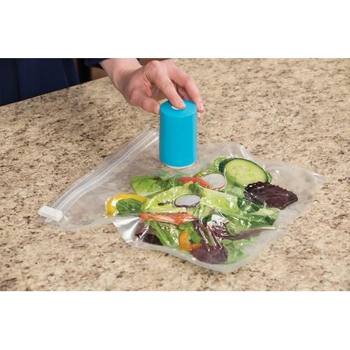 Always Fresh Vacuum Food Sealer with 6 Reusable Bags