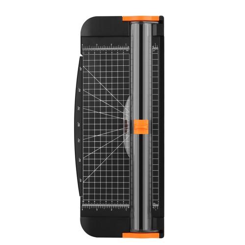 """Paper Cutter, AGPtEK A4 Paper Trimmer 12"""" Scrap-booking Tool ( Black )"""