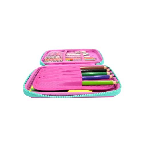 Smilykiddos Single Compartment Pencil Case Purple
