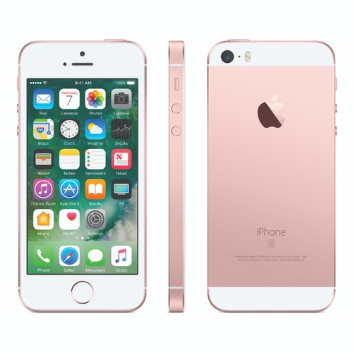 Apple iPhone SE, A1662, 32GB, Rose Gold - CDMA / GSM Unlocked ( Renewed )