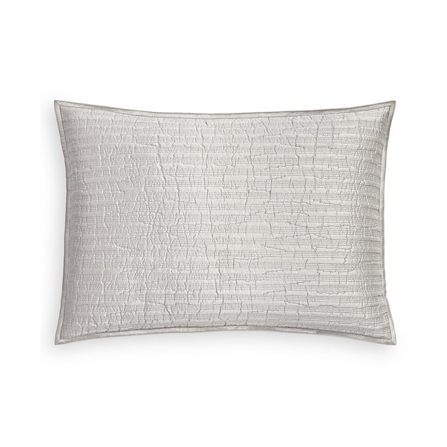 Hotel Collection Silverwood Quilted Imported King (20 Inch x 36 Inch) Sham,