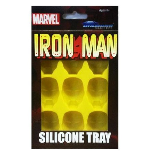 Marvel Iron Man Ice Cube Tray