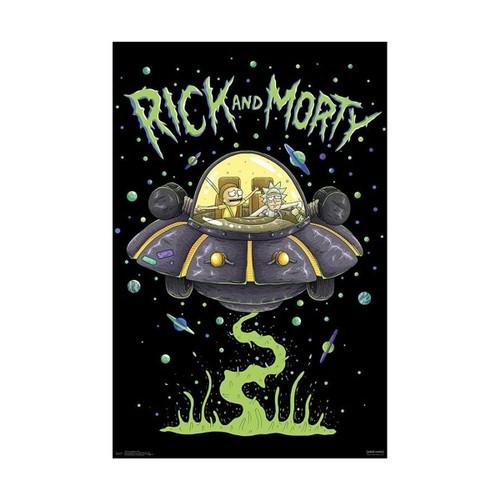 Rick and Morty Ship Poster