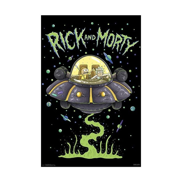Rick and Morty Ship Poster