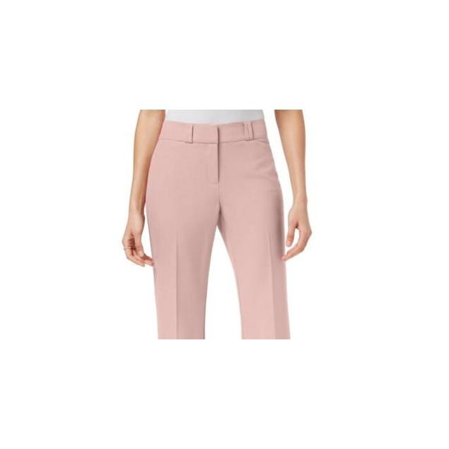 Alfani Women's Straight Leg Trousers Pink Size X-Large