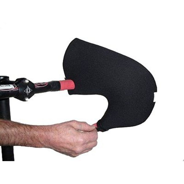Bar Mitts for Extreme Cold Weather Handlebar with Internally Routed Cables