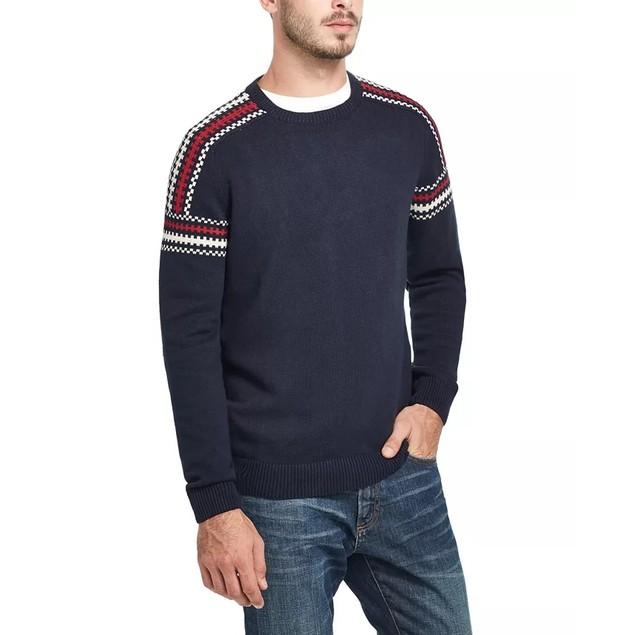 Weatherproof Vintage Men's Ski Sweater Navy Size Small Medium