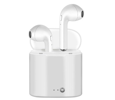 Wireless Bluetooth Earbuds with Charging Case (White) Was: $49.99 Now: $12.99.
