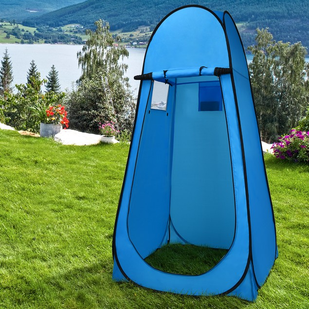 Costway Portable Outdoor Bathing & Changing Tent