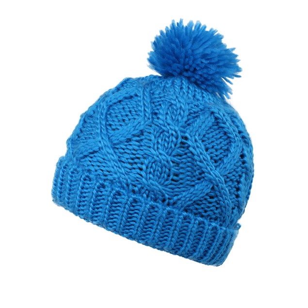 Kids' Super Chunky Cable Knit Beanie- 9 Colors