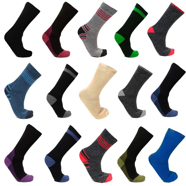 12-Pair Mystery Deal: Men's Mega Thermo Thermal Insulated Socks