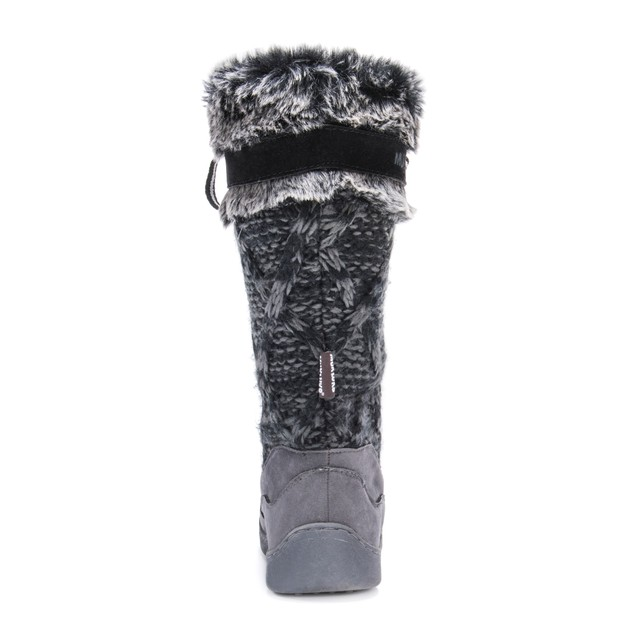 Muk Luks Women's Gwen Tall Lace Up Snow Boot